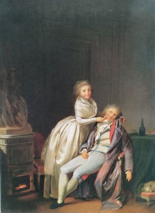 Boilly 1791 ca Prends ce biscuit coll priv