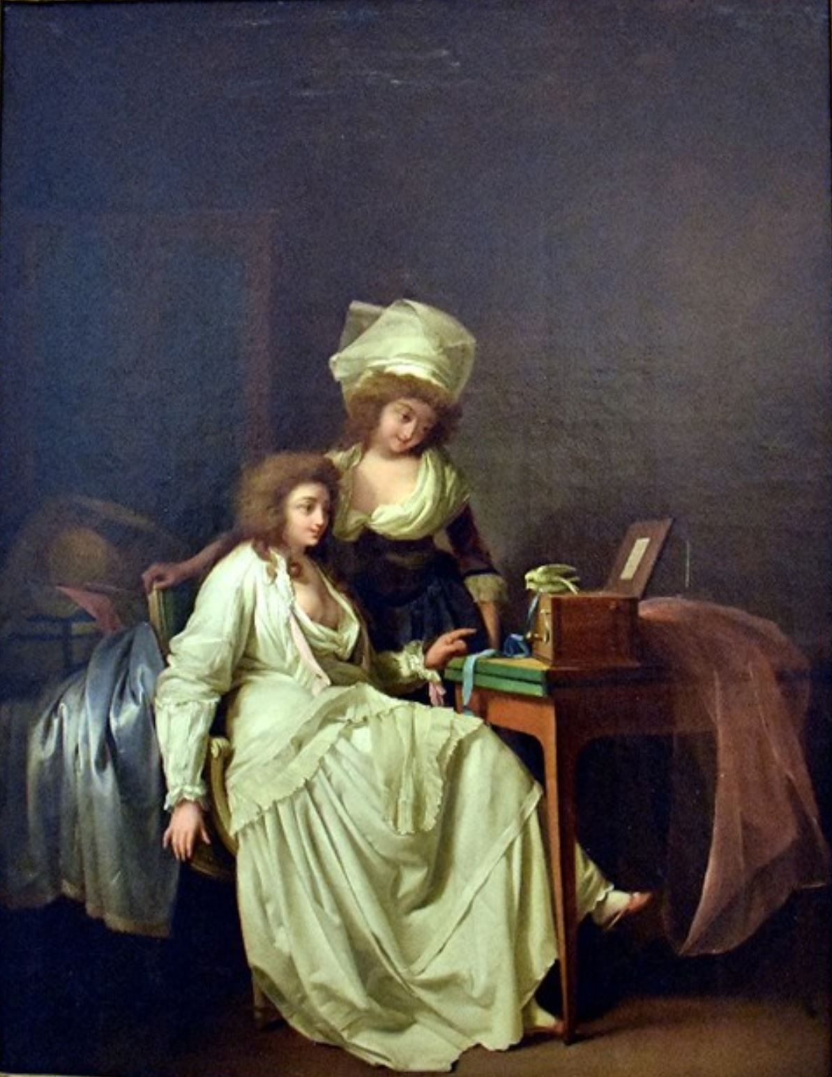 Boilly 1791, la serinette