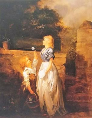 Boilly 1793-96 L'enfant a la rose coll part