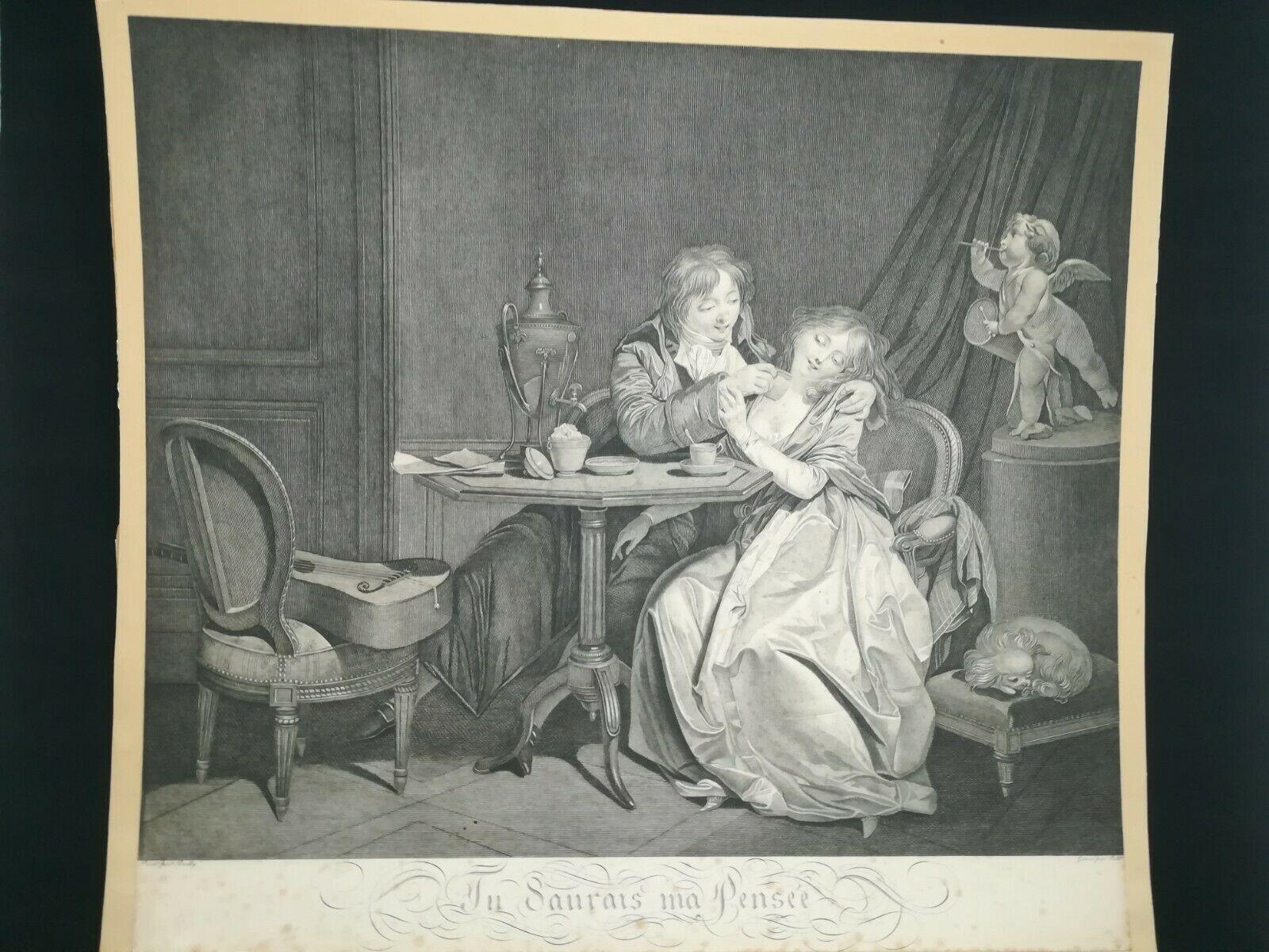 Boilly 1794 ca Tu saurais ma pensee