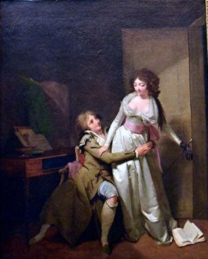 Boilly 1796 Le Reveil premedite