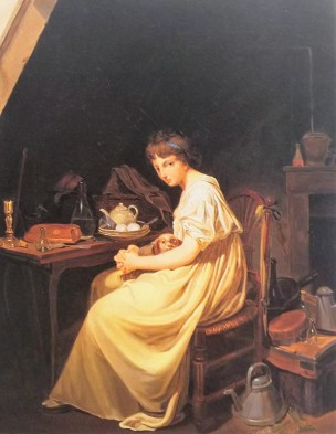 Boilly 1797-98 Le chien cheri