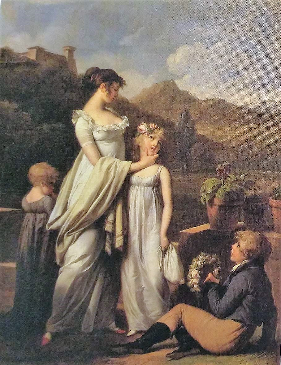 Boilly 1806 ca La jeune mere Musee de Boulogne sur mer