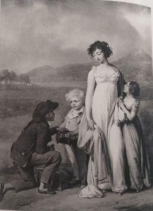 Boilly 1806 ca Le marchand d'oiseaux detruit
