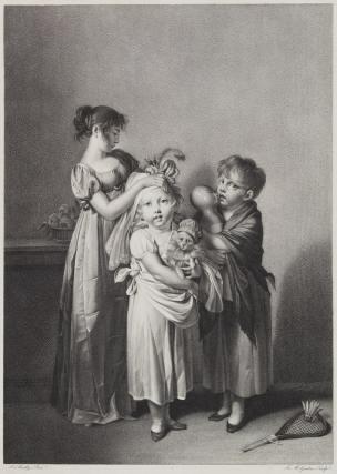 Boilly 1809 Les petites coquettes gravure de Jacques-Louis Bance