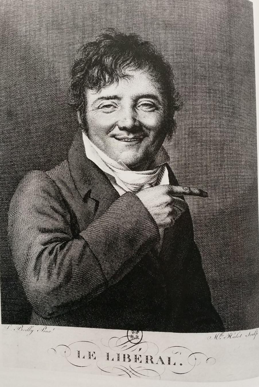 Boilly 1818 Le liberal grav Hulot Caroline