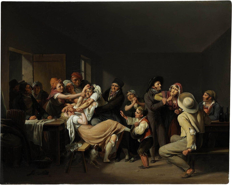 Boilly 1818-_Les Femmes se battent coll privee