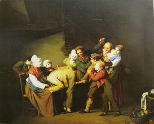 Boilly 1824 La main chaude Musee de Chateauroux