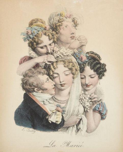 Boilly 1825 ca La mariee Les grimaces