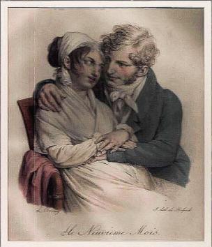 Boilly 1825 ca Le neuvieme mois