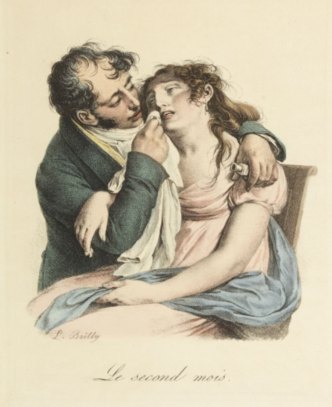Boilly 1825 ca Le second mois