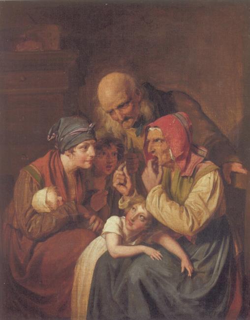 Boilly 1826 ca la derniere dent coll privee