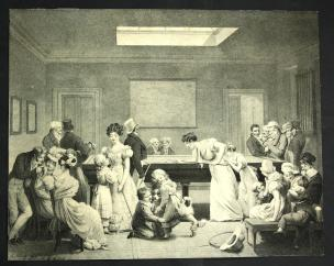 Boilly 1828a Le jeu de billard
