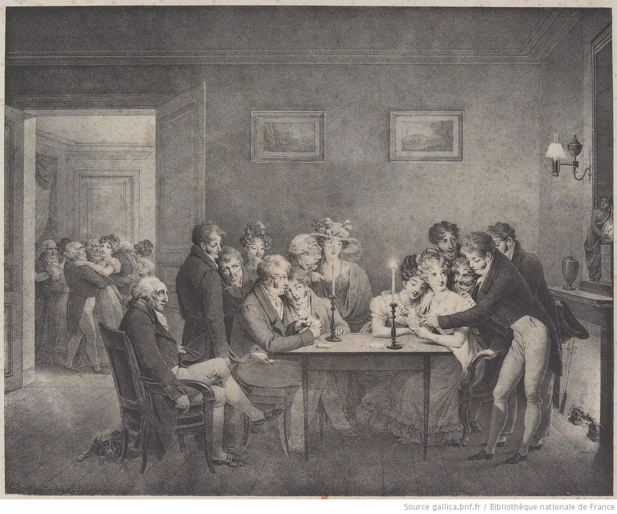 Boilly 1828a Le jeu de l'ecarte