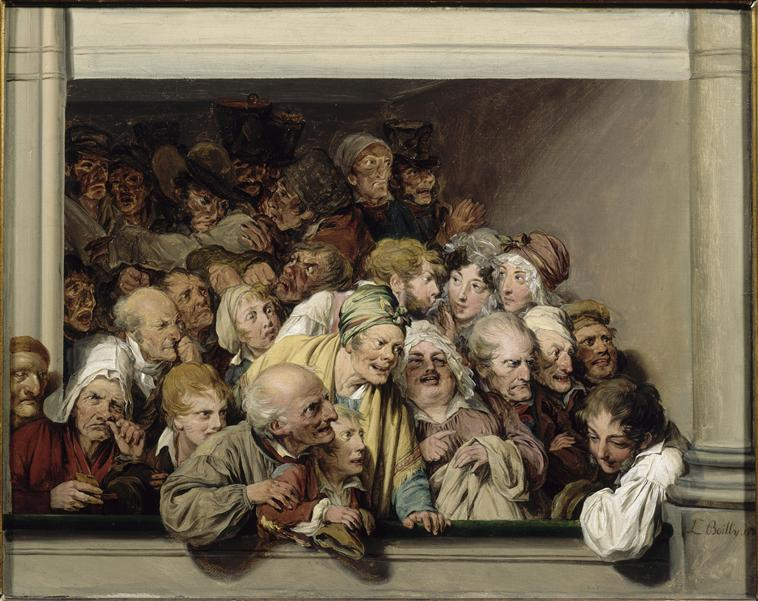 Boilly 1830 Une Loge Musee Lambinet Versailles