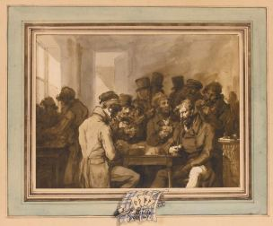 Boilly 1845 La partie de cartes