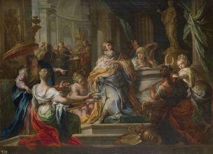 Conca Sebastiano 1750 Idolatry_of_Solomon Prado 54 x 71 cm