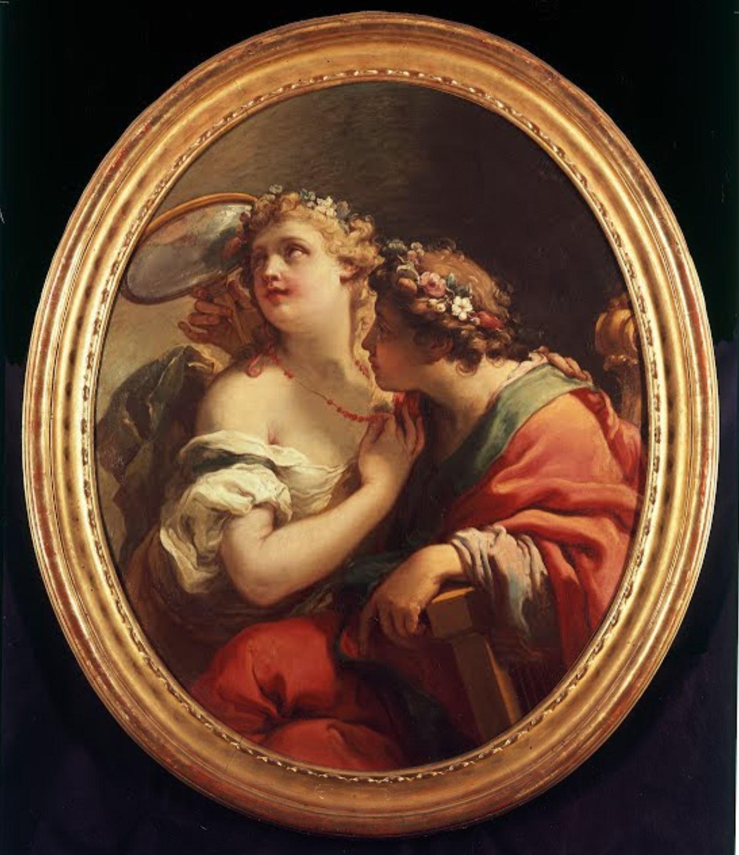Gaetano Gandolfi 1779 Allegorie de la Beaute Kunsthalle Breme