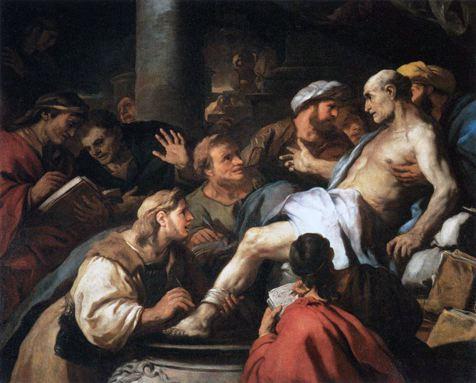 Giordano 1684-85 Mort de Seneque Louvre