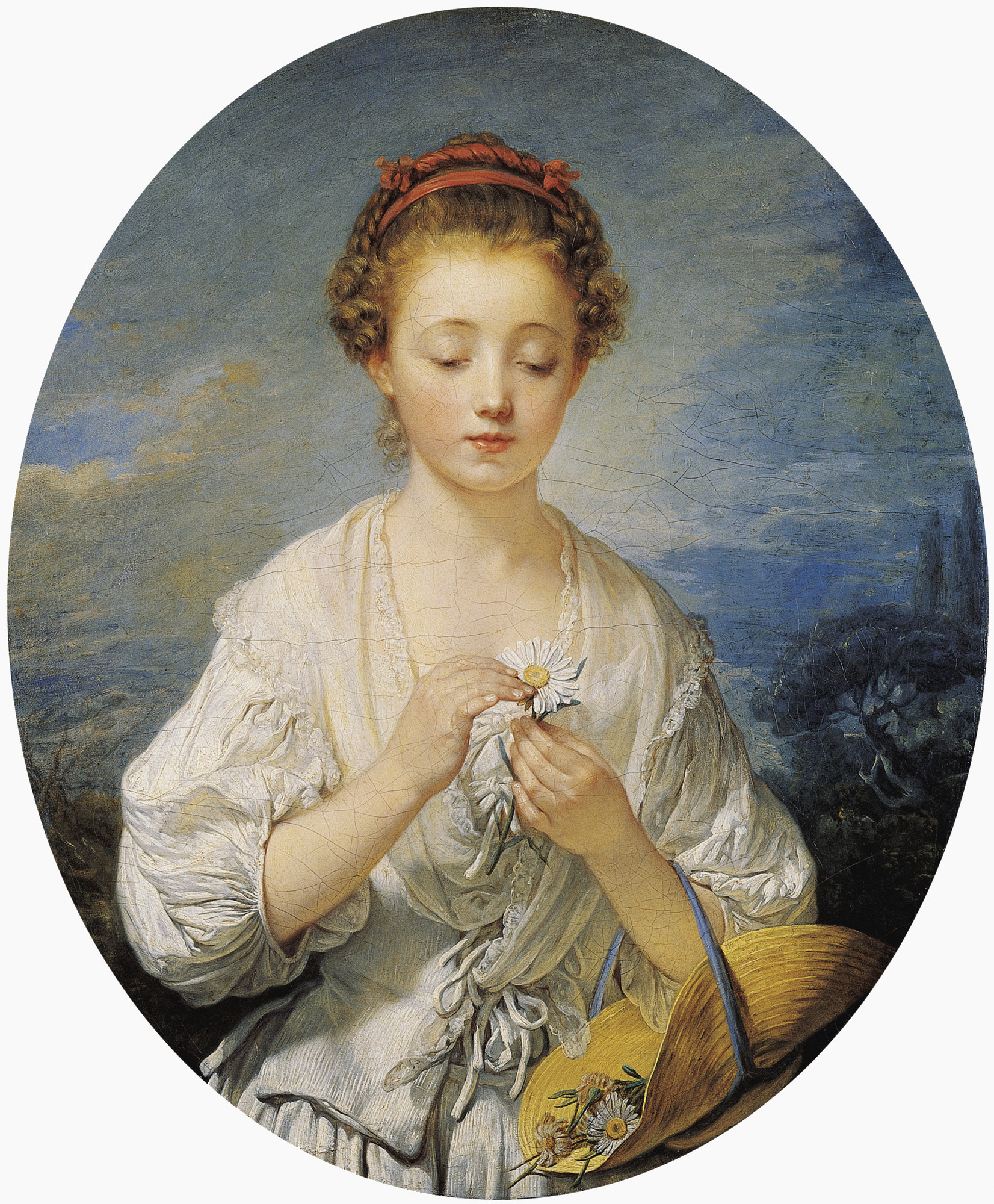 Greuze A La simplicite 1759 Fort Worth, Texas, Kimbell Art Museum