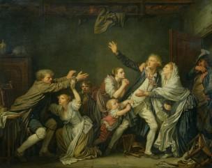 Greuze La malediction paternelle 1777 Le fils ingrat Louvre