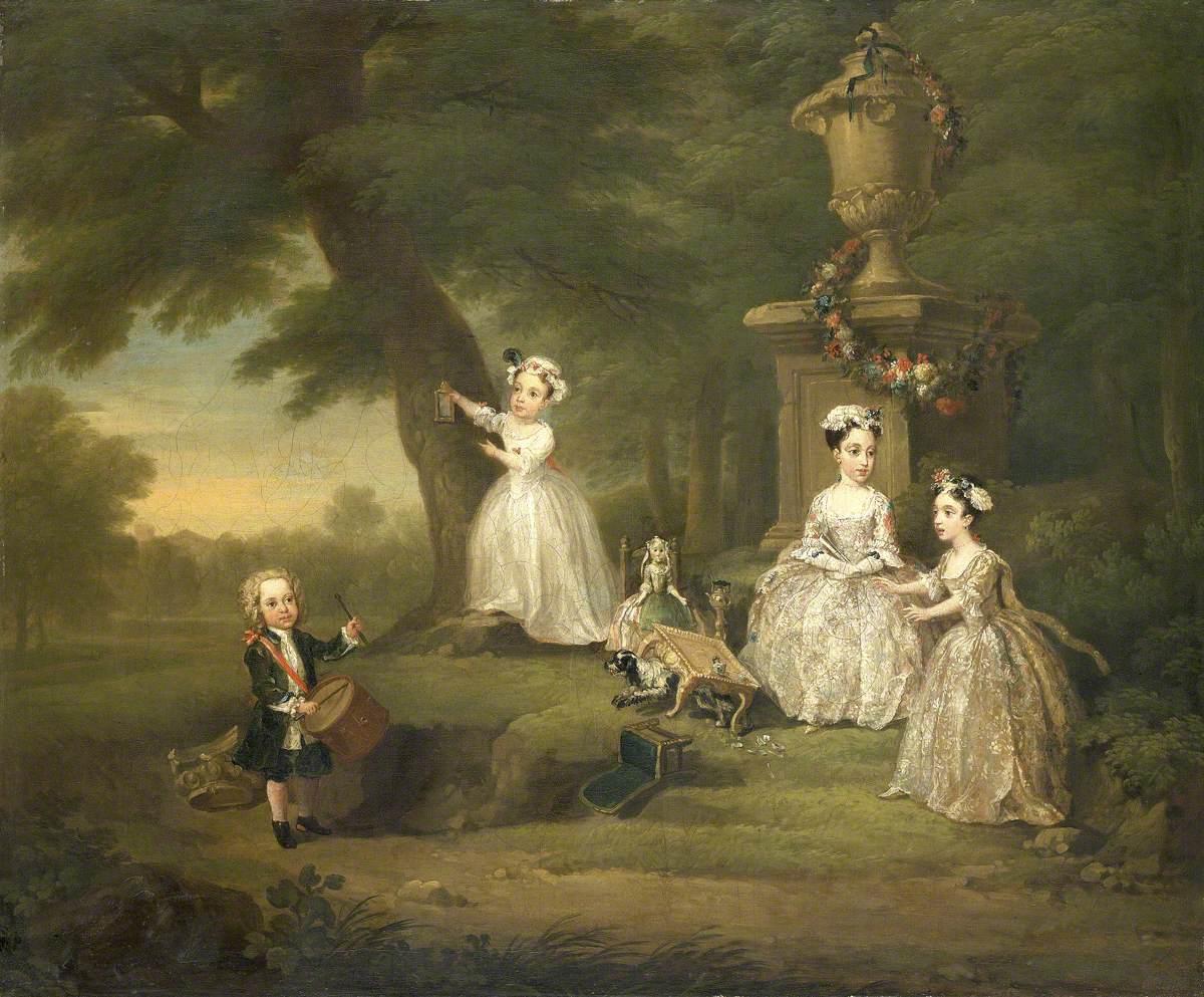 Hogarth, William, 1697-1764; A Children's Tea Party
