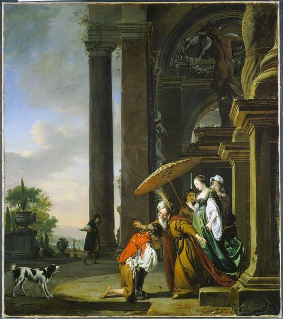 Jan-Weenix-II-1668-Le-retour-de-lenfant-prodigue-National-Gallery-of-Canada-113-x-100