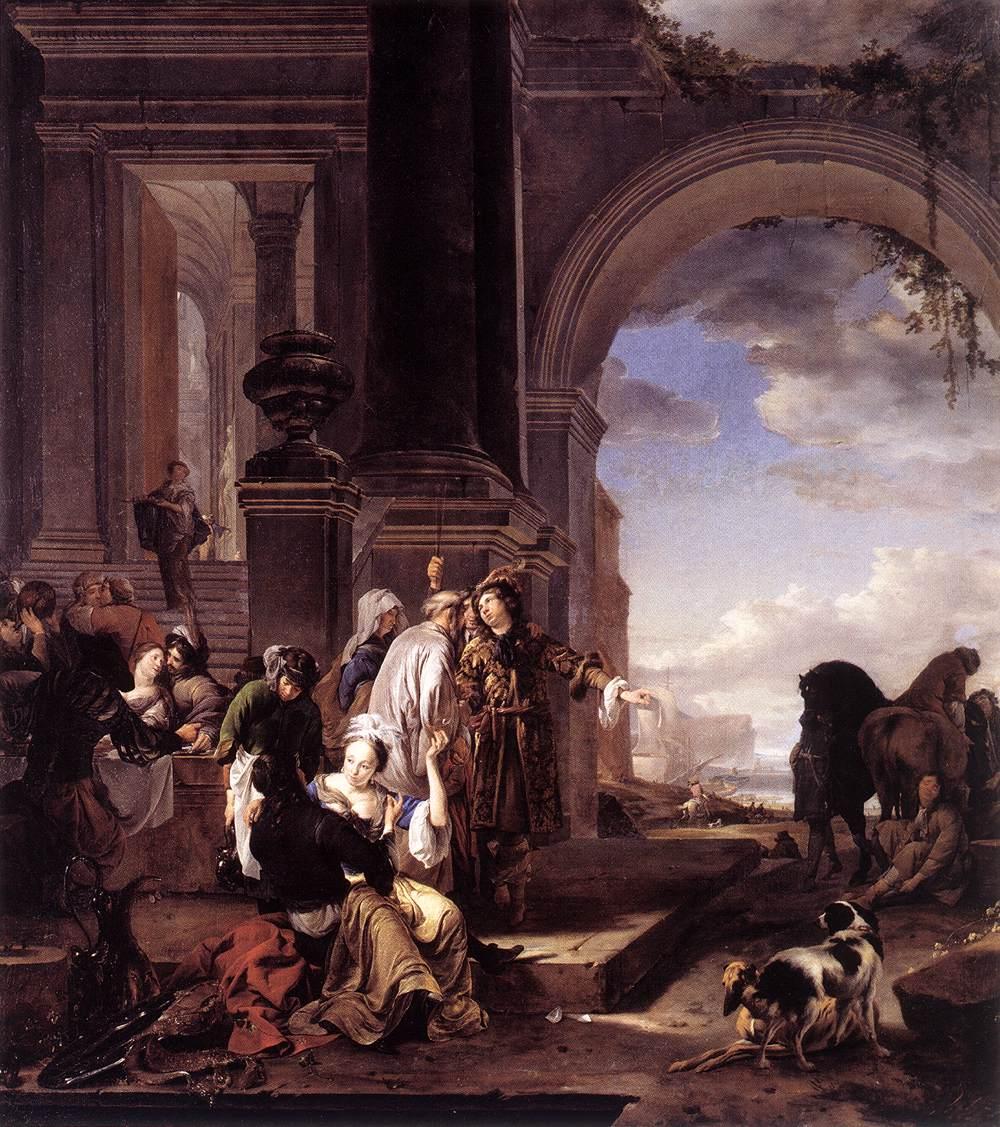 Jan_Weenix II1668_The_Prodigal_Son_-Residenzgalerie, Salzburg 111x99