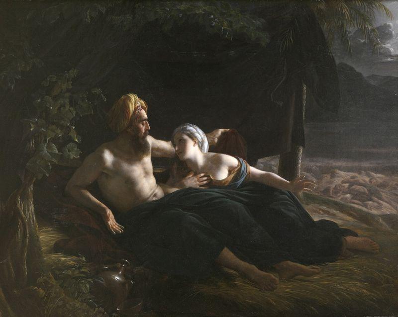 Louis Hersent 1822 Ruth et Booz coll priv