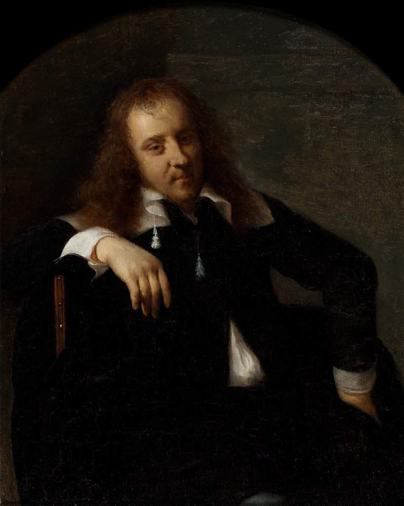 Metsu 1658 ca Self_Portrait Speed_Art_Museum