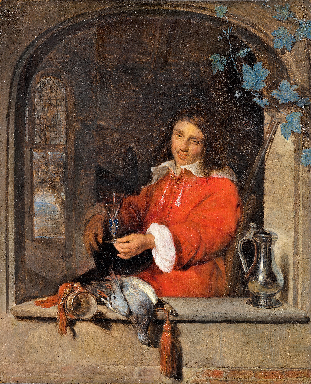 Metsu 1661 Le chasseur Maurithuis