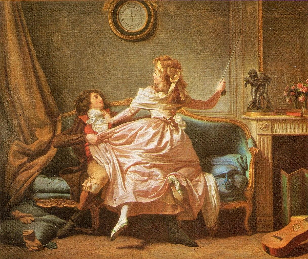 Michel Garnier 1793 La douce résistance 55 x 45