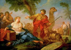 Natoire 1732 Jacob et Rachel quittant la maison de Laban Atlanta, High Museum of Art
