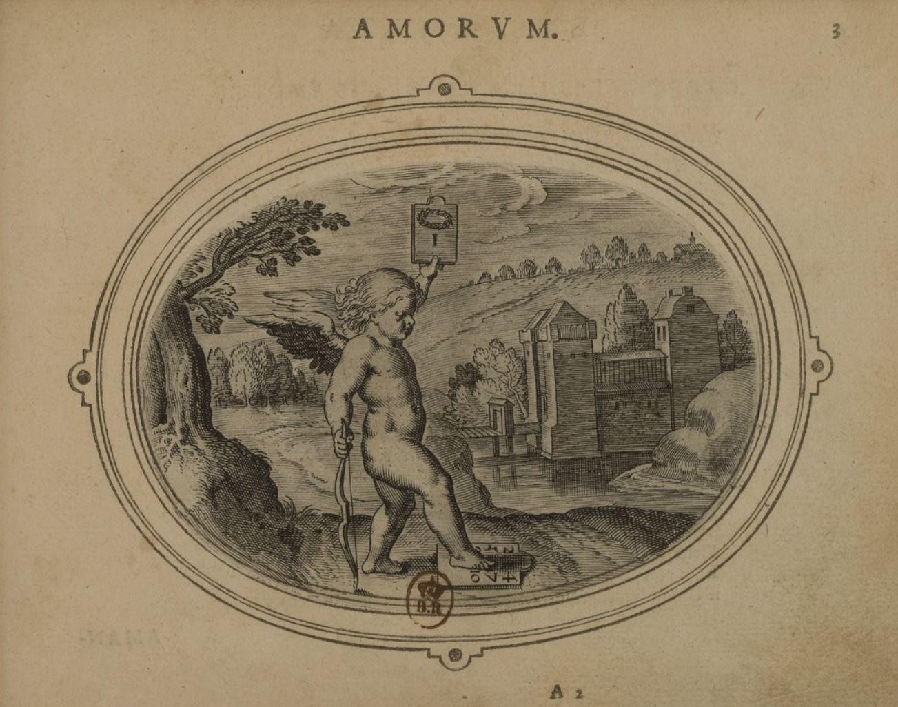 Otto Van Veen 1608 Amorum emblemata, figuris aeneis incisa, ve 23 Gallica