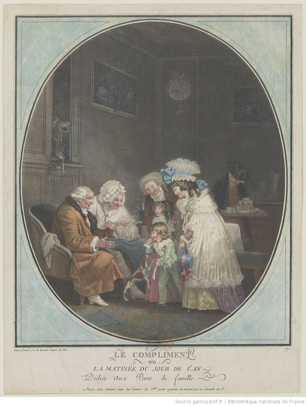 PHILIBERT-LOUIS DEBUCOURT 1787 Le_Compliment gallica