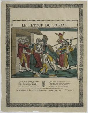 Pellerin 1800-1815 Le retour du soldat MUCEM
