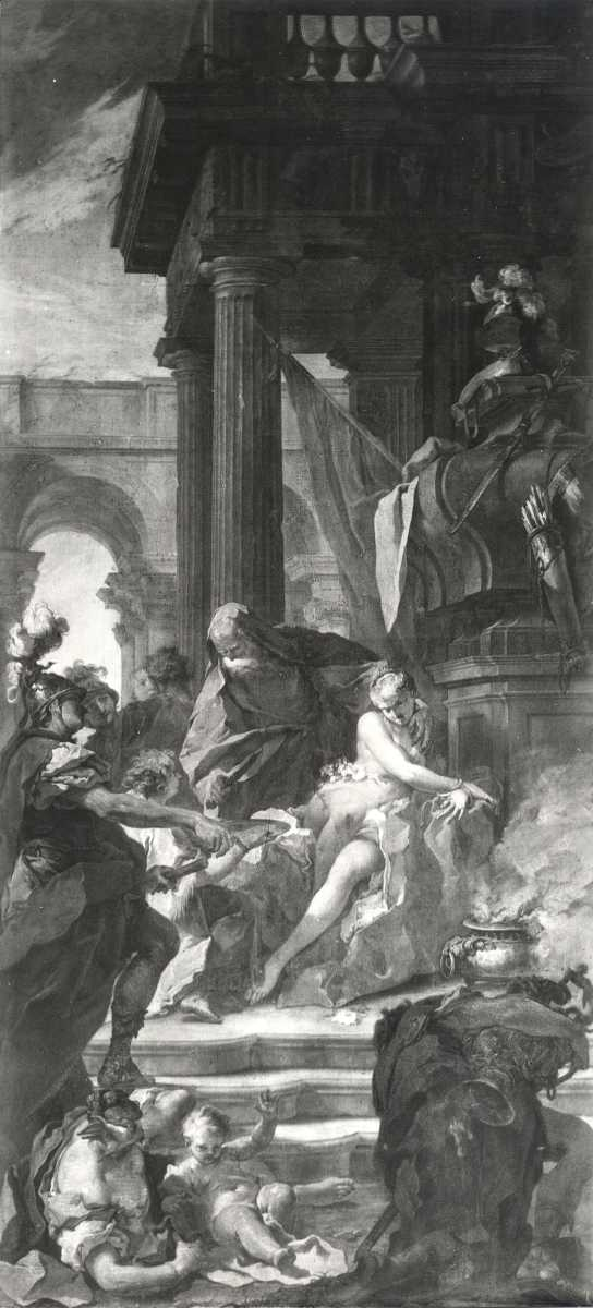 Pittoni 1720 ca The_Sacrifice_of_Polyxena_at_the_Tomb_of_Achilles Palazzo_Caldogno_Tecchio,_Vicenza