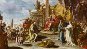 Pittoni 1733-35 Continence de Scipion Louvre