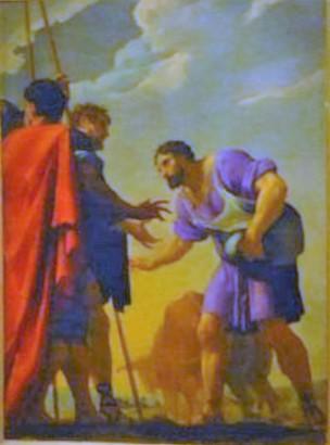 Poerson 1650-75 Cincinnatus quitte sa charrue Musee des beaux arts, le Mans