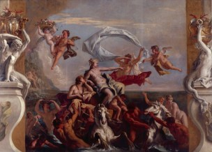 Ricci, Sebastiano; The Triumph of Galatea