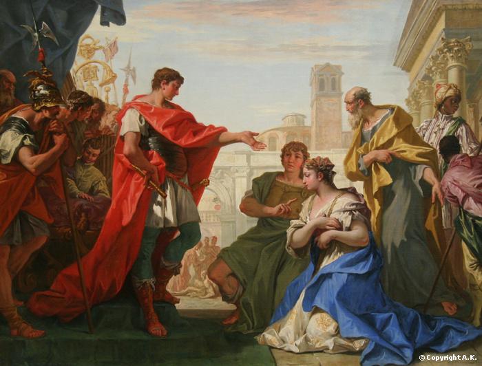 Ricci Sebastiano-La continence de Scipion 1709 North Carolina Museum of Art Raleigh