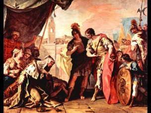 Ricci Sebastiano--la-famille-de-Darius-et-Alexandre 1709 North Carolina Museum of Art Raleigh