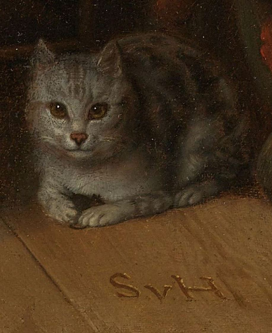 Samuel van Hoogstraten, 1660 - 1678 The Anemic Lady Rikjsmuseum detail chat