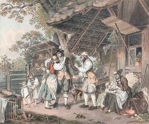 Sigmund freudenberger 1780-depart -du-soldat-suisse