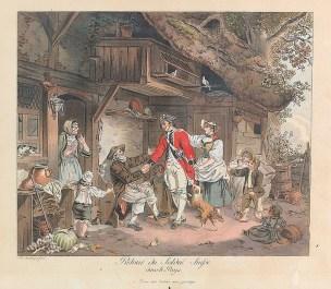 Sigmund freudenberger 1780-retour -du-soldat-suisse