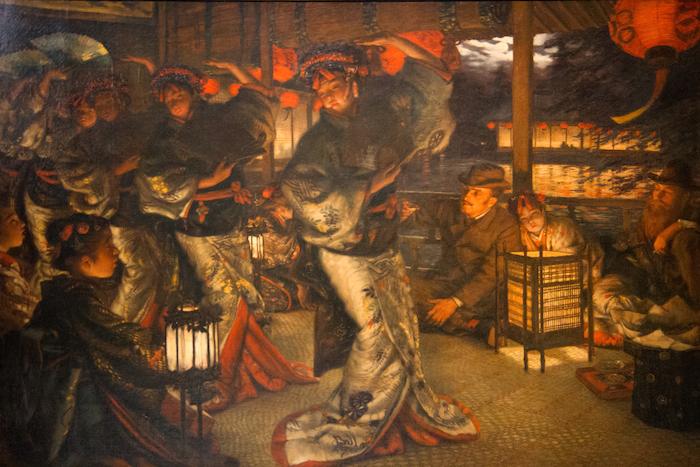 Tissot 1882 ca_The_Prodigal_Son_in_Modern_Life 2 En pays étranger, Musee des BA Nantes