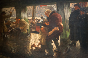 Tissot 1882 ca_The_Prodigal_Son_in_Modern_Life 3,_Return Musee des BA Nantes