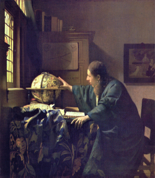VERMEER_L'astronome 1668 Louvre