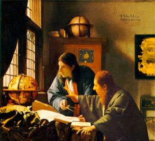 Vermeer Astronome Geographe 1