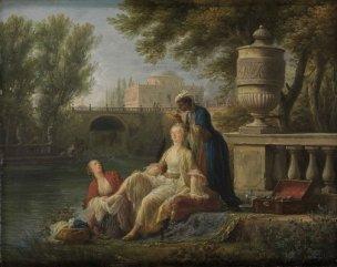 Vernet , 1757, Toilette turque, Staatliche Kunsthalle,, Karlsruhe 27x34
